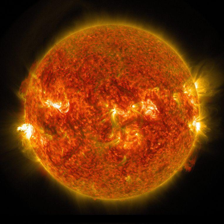 'De zon is onze levensbron, elke verandering heeft effect op ons klimaat.' Beeld EPA