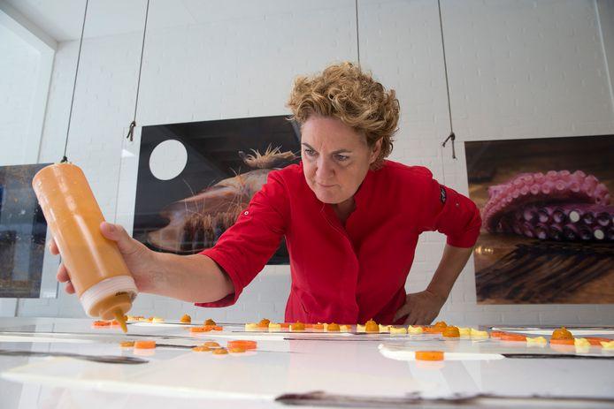 Chefkok Angelique Schmeinck.