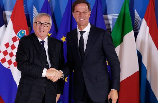 **EU-leiders verhogen druk op onwillige lidstaten inzake verdeling migranten: Rutte 'iets optimistischer' over succesvolle top**