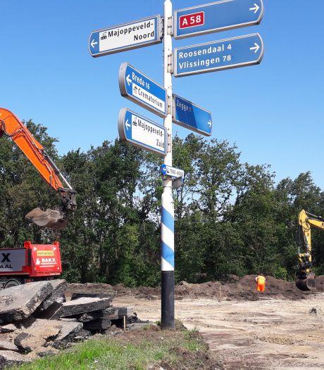 De Lage Zegstraat tussen Zegge en Roosendaal is weer terug bij af