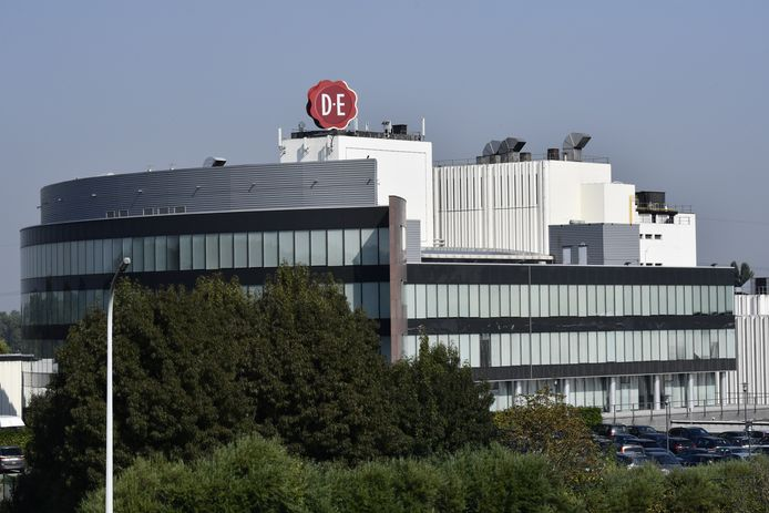 Jacobs Douwe Egberts headquarters and the coffee production site of Jacobs Douwe Egberts in Grimbergen