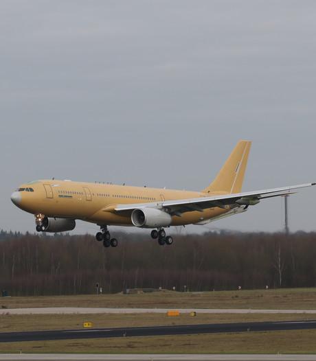Vliegbasis Eindhoven maakt kennis met nieuw tankvliegtuig