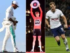 Froome, Hamilton en Kane in de race voor Britse sportprijs