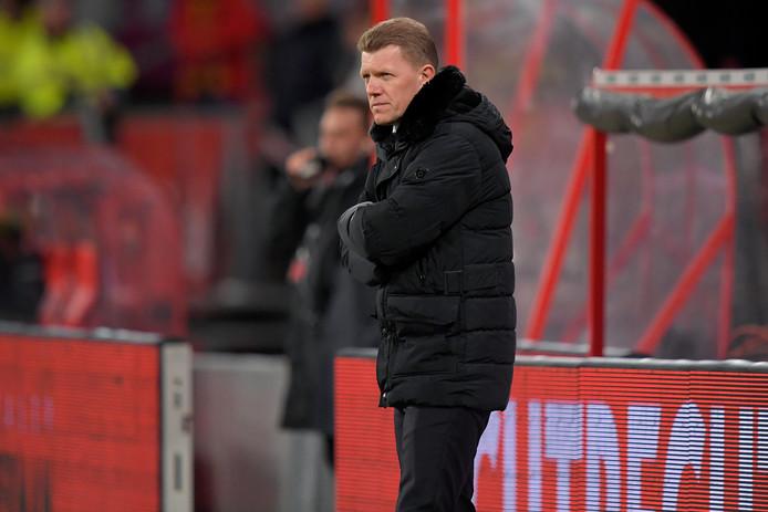 Jong FC Utrecht-coach Robin Pronk.