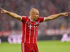 'Robben verlaat training met probleem aan bovenbeen'