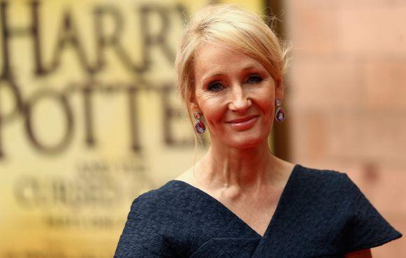 Auteur J.K. Rowling.