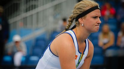 Bonaventure en Zanevska verliezen in eerste ronde van kwalificatietoernooi