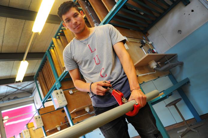 Miguel Garcia van de CSW in Middelburg wil de elektrotechniek in.