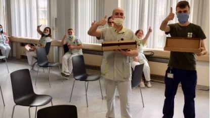 50 pizza's voor ondersteunend personeel AZ Jan Portaels