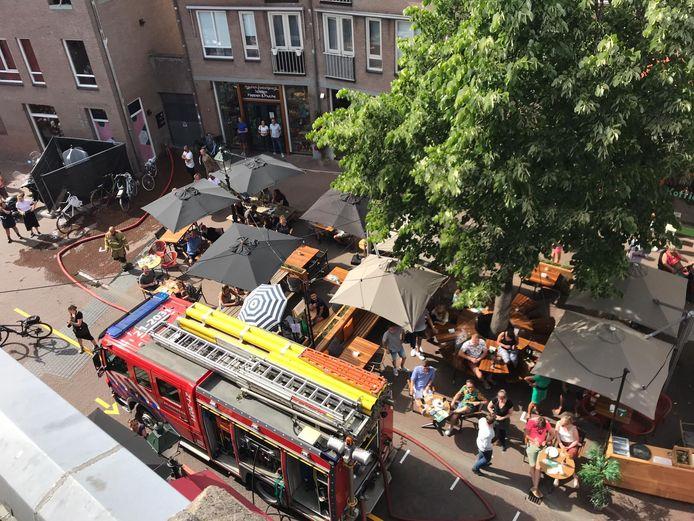 Brand Minderbroedersplein Den Bosch