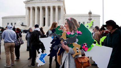 Amerikaans Hooggerechtshof buigt zich over controversiële hertekening van kieskringen