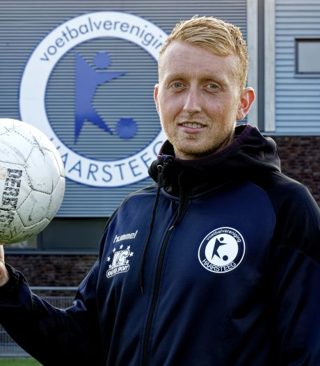 Haarsteeg-aanvoerder Lars Habraken verwacht raar seizoen: 'Vraag me af of we al die 26 duels wel zullen spelen'