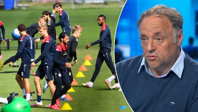 Interdiction de jouer et de s'entraîner pour les clubs anversois? Marc Van Ranst ne semble pas opposé à une exception pour les clubs professionnels.