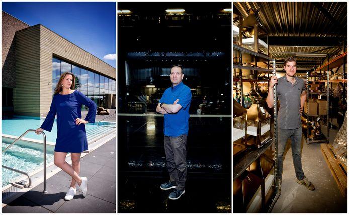 Deze drie ondernemers hebben al het achterstallig onderhoud inmiddels wel weggewerkt.