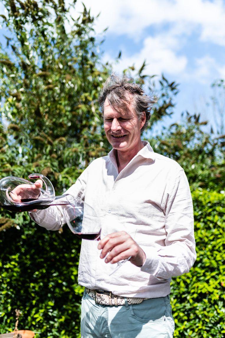 Master of Wine Cees van Casteren. Beeld Katja Poelwijk