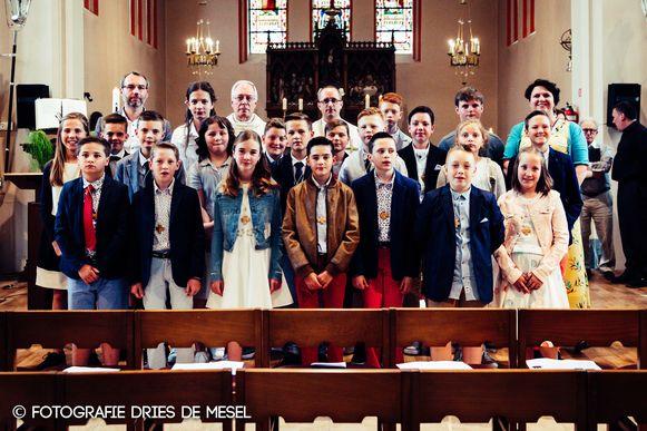Vanaf volgend jaar vinden de communievieringen plaats in de kerk in Sint-Lievens-Houtem.