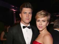 Scarlett Johansson straalt op rode loper met nieuwe liefde