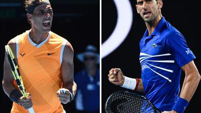 """Onze man fileert: Zorgen Nadal en Djokovic voor nieuw """"duel der giganten""""?"""