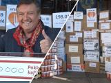 130.000 pakken koffie voor Voedselbank: ambassadeur René Froger dolblij