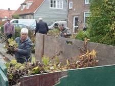 Bewoners Moggestraat in Dreischor knappen hun tuintjes op