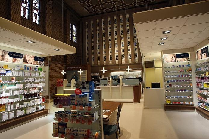 De apotheek in het gezondheidscentrum. Foto Ab Hakeboom