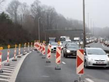 Affaissement à hauteur de Tervuren: nouveaux embouteillages sur le ring