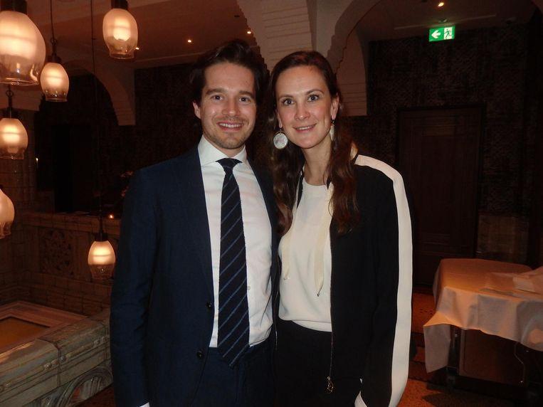 Paul Coenen (Automotive Tax) en Sonia gravin Festetics de Tolna (Alchemist Fashion), 'Fles' voor intimi. Beeld Schuim