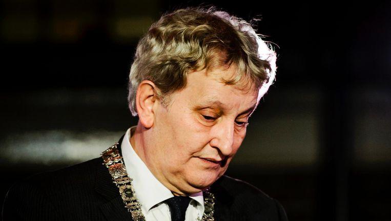 Burgemeester Eberhard van der Laan schrijft dat het niet mogelijk is om 'indirecte financiële betrekkingen' met de nederzettingen uit te sluiten Beeld anp