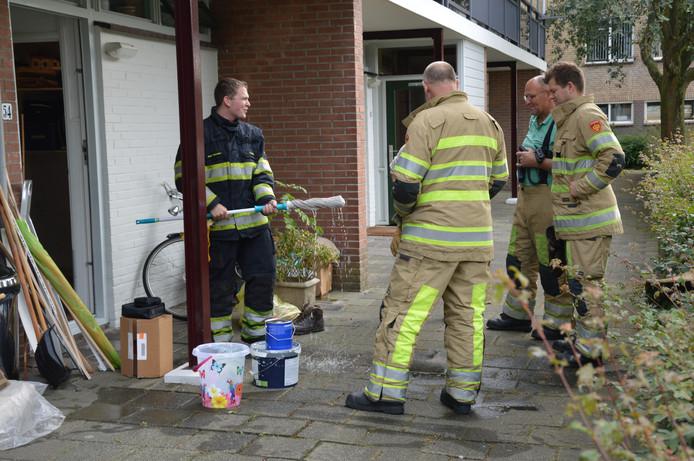 Kamer blank met heet water na leidingbreuk in woerden woerden ad.nl