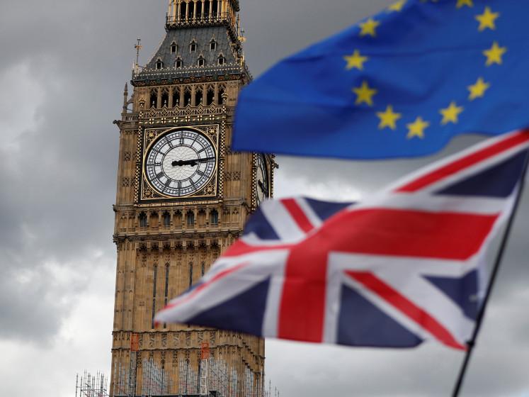 Britten bang voor afloop brexit