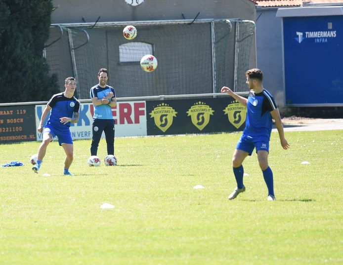 FC Den Bosch hervatte gisteren de training.