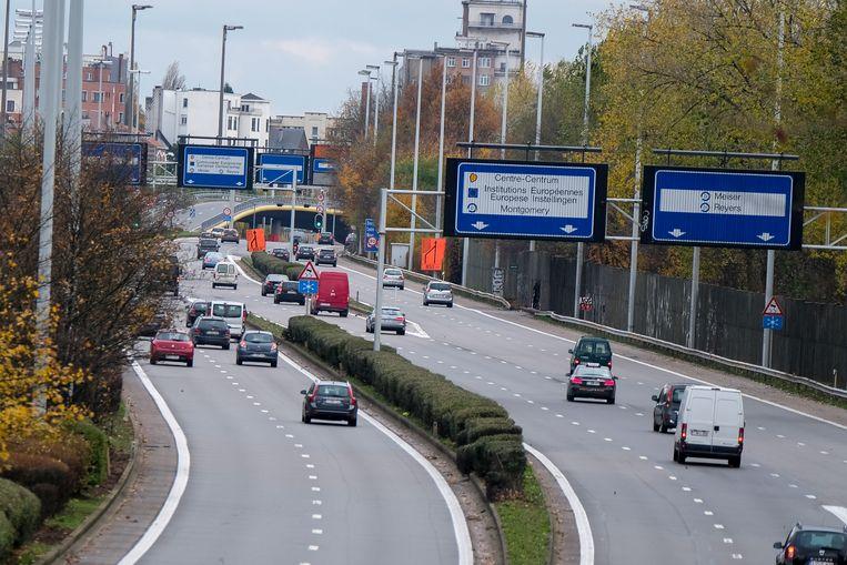 De E40 wordt op Brussels grondgebied een stadsboulevard.