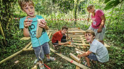 Nieuw: kinderen ravotten in Wildernis