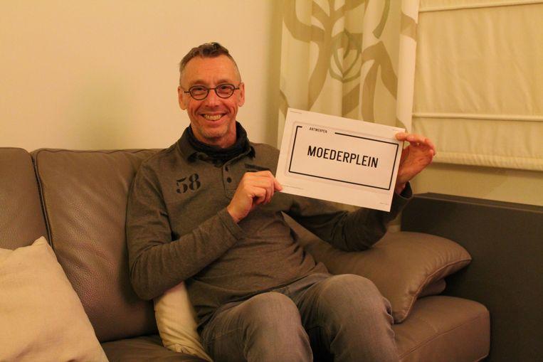 Dominic Van Oosterwyck lanceerde begin dit jaar een oproep voor een Moederplein.