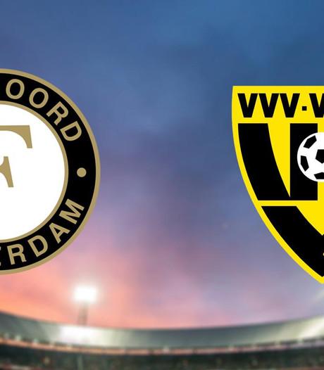 Feyenoord aast tegen VVV op herstel