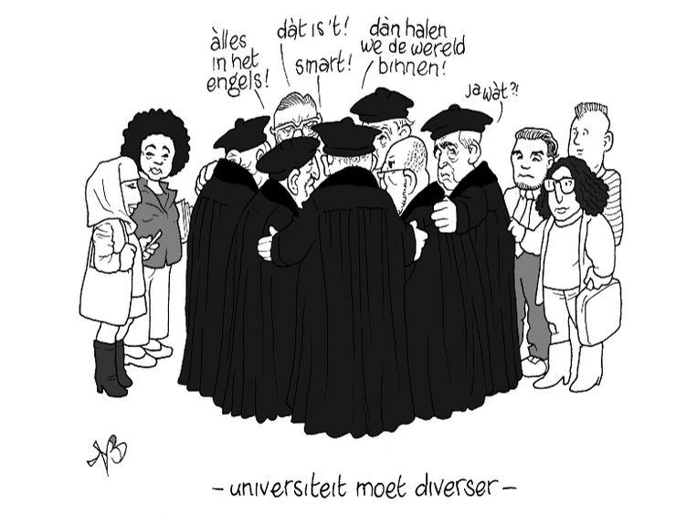Uit: Verslag Dialoogavond 'Diversiteit op de UU', 4 april. Beeld Niels Bongers