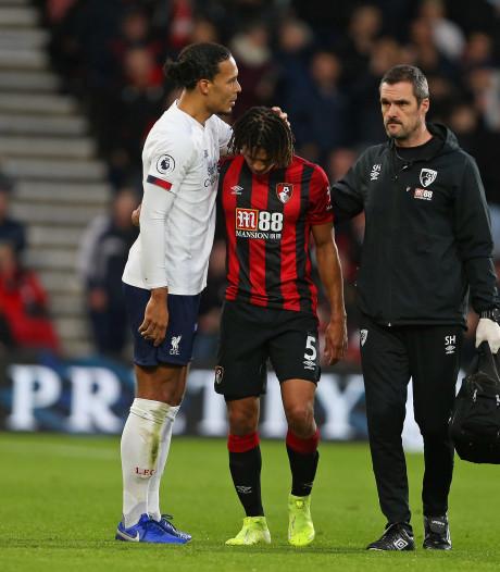 Liverpool eenvoudig voorbij Bournemouth, Aké valt uit met hamstringblessure