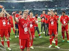 Robben pakt opnieuw Duitse titel met Bayern na monsterzege