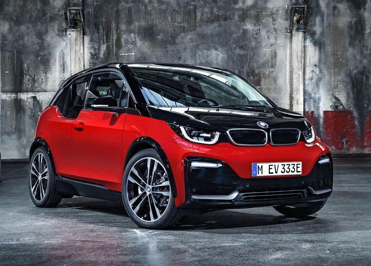 De volledig elektrische BMW i3s. Beeld