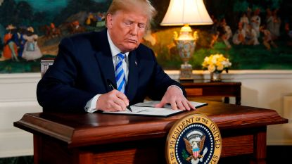 Trump blaast nucleair akkoord met Iran op: bommetje onder wereldvrede en onze portefeuille