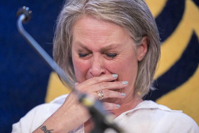 Berthie Verstappen, de moeder van Nicky.
