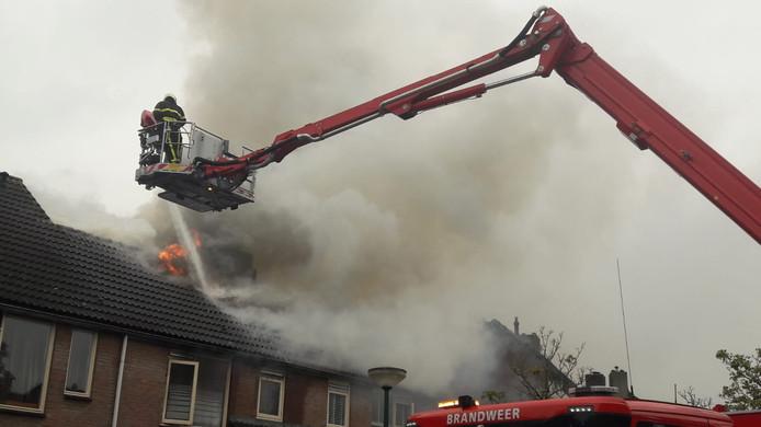 Uitslaande brand in Kaatsheuvel