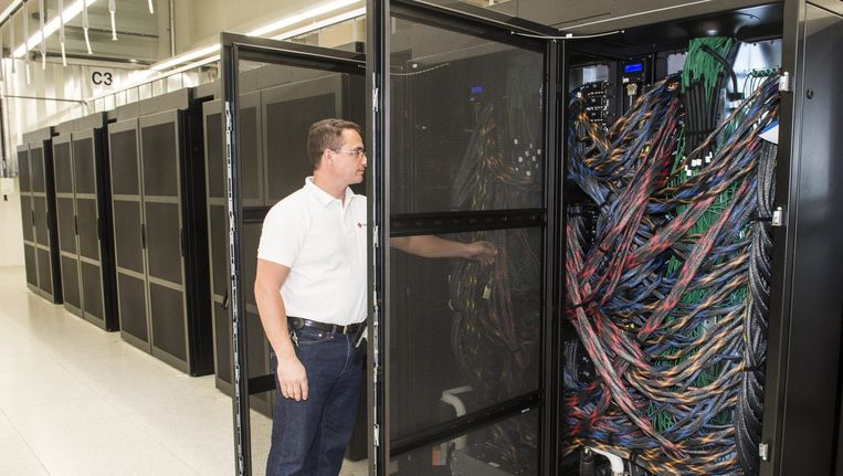 Supercomputer in Lugano Beeld ANP