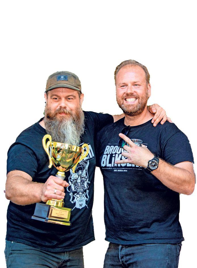 De stoere mannen van Brouwerij Bliksem uit Breda wonnen vorig jaar met hun pikzwarte Black Sabbath de beker van Brabants Lekkerste Bier
