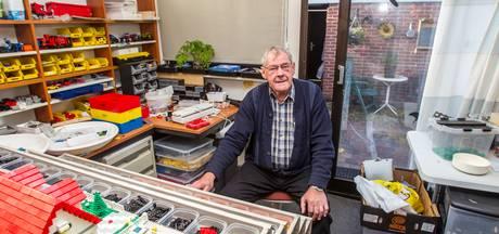 Bert (75) uit Veldhoven is verslingerd aan Lego