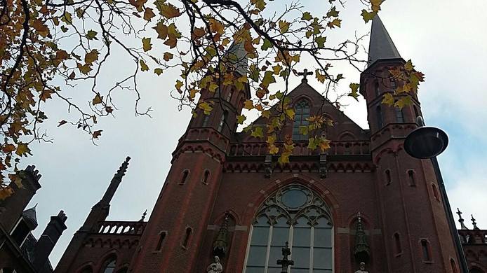 De Gouwekerk in Gouda.