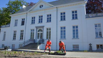 Voortuin Sint-Michielskasteel krijgt nieuwe beplanting en paden