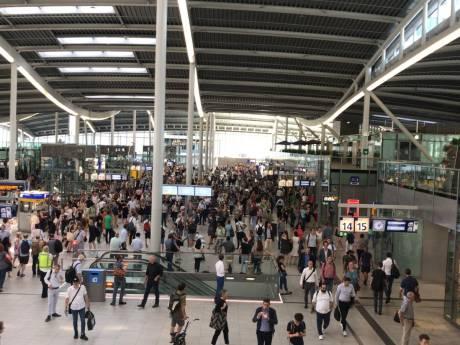 Treinverkeer Utrecht Centraal komt op gang