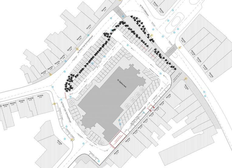 Wat aanpassingen aan het kerkplein zouden daar snel twintig extra parkeerplaatsen moeten opleveren volgens de handelsvereniging Verkén.