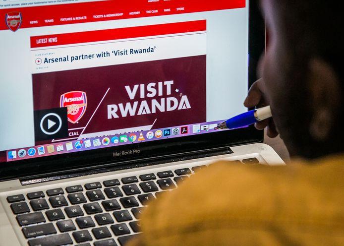 'Visit Rwanda' komt er komend seizoen op de mouw van het Arsenal-shirt te staan
